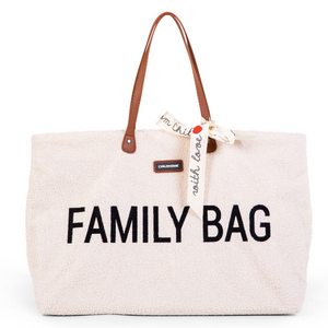 Childhome family bag - Teddy ecru