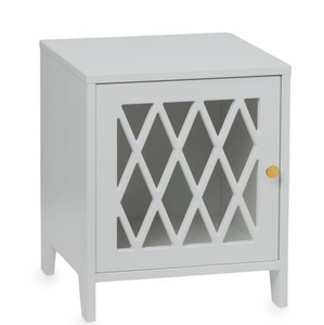 CamCam harlequin bedside table - Gray