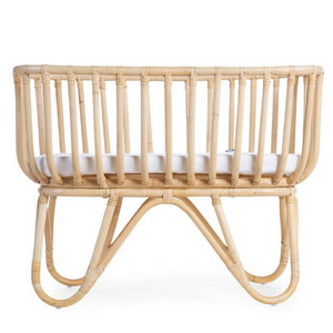 Rattan cradle rectangular from Childhome