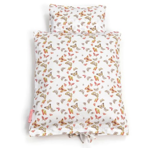 Smallstuff beddengoed poppenbed - Butterflies multi