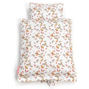 Smallstuff bedding doll bed - Butterflies multi