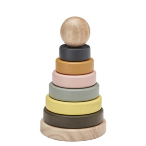 Kid's Concept wooden stackable rings NEO