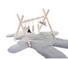 Afbeelding in Gallery-weergave laden, Childhome houten babygym tipi play - Naturel