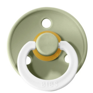BIBS pacifier glow in the dark sage - Size 3