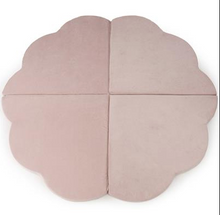 Load image into Gallery view, MISIOO foam play carpet pink - flower 160x5cm
