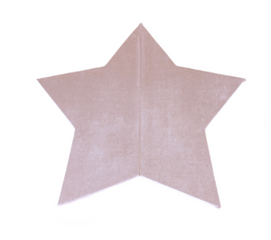 MISIOO foam play carpet pink - star 160x5cm