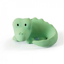 Load image into Gallery view, Tikiri bath toy with bell - Crocodile