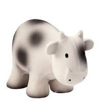 Load image into Gallery view, Tikiri bath toy with bell - Cow