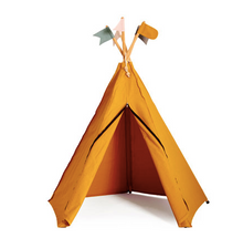 Load image in Gallery view, Roommate Hippie Tipi Tent - Ocher yellow