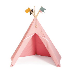 Roommate Hippie Tipi Tent - Roze