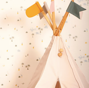 Roommate Hippie Tipi Tent - Natural