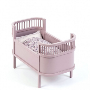Smallstuff wooden doll bed - Pink