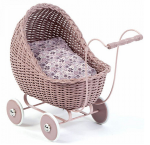 Smallstuff dolls pram - Powder pink