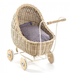 Smallstuff doll pram - Natural