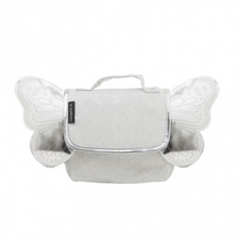 Loading Image in Gallery View, Caramel & Cie Backpack with Wings - Silver