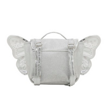 Load image into Gallery view, Caramel & amp; Cie backpack with wings - silver