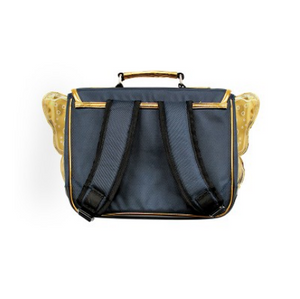 Caramel & Cie backpack with wings - Blue / gold