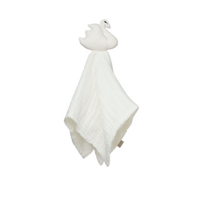 Cam Cam cuddle cloth swan - Off white