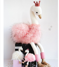 Load image into Gallery view, Doudou swan hug - 80 cm