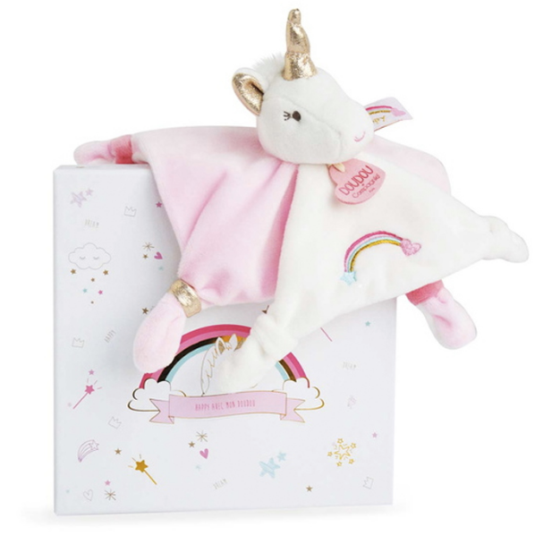 Doudou cuddle cloth - Unicorn