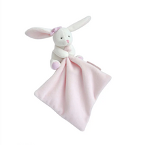 Load image into Gallery view, Doudou cuddle cloth - Rabbit with bow