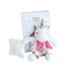 Load image into Gallery view, Doudou rattle - Unicorn