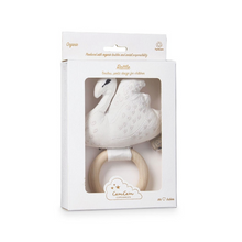 Load image into Gallery view, Cam Cam rattle swan - Off white