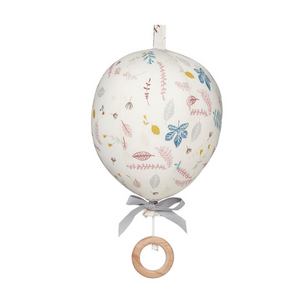 Cam Cam music mobile air balloon - Pressed leaves rose