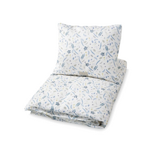 Load image in Gallery view, Cam Cam comforter set 70x100cm - Pressed leaves blue