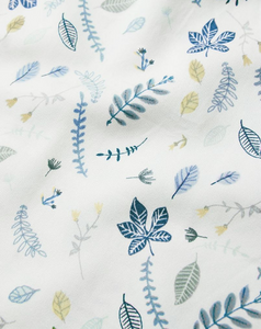 Cam Cam comforter set 100x140cm - Pressed leaves blue