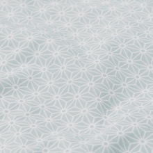 Load image into Gallery view, Cam Cam comforter set 100x140cm - Sashiko mint