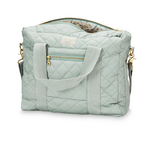 Cam Cam diaper bag - Misty green