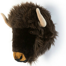 Load Image in Gallery View, Wild & Soft Animal Head - Buffalo