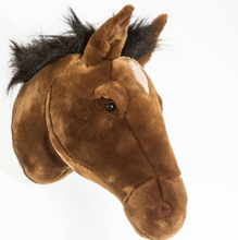 Load Image in Gallery View, Wild & Soft Animal Head - Horse