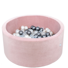 Loading image in Gallery view, MISIOO ball pool velvet pink - around 90x40cm