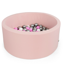Loading image in Gallery view, MISIOO ball pool pink - round 90x40 cm