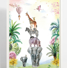 Load image in Gallery view, Fleur des fleurs poster A3 - You'll never walk alone girls