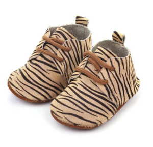 Shoes - Zebra beige