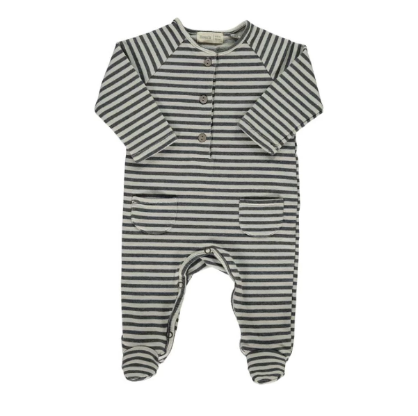 Bean's tree striped playsuit - Grijs
