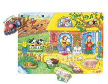Bild in die Galerieansicht laden, Goki Puzzle - Farm