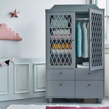 Load image in Gallery view, CamCam harlequin wardrobe - gray / gray