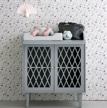 Load image into Gallery view, CamCam harlequin chest of drawers - Gray / gray
