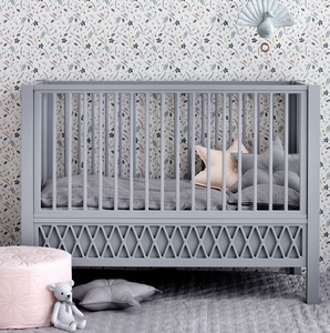 CamCam harlequin baby bed - Gray