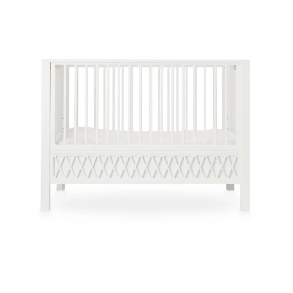 CamCam harlequin baby bed - White