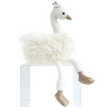 Load image into Gallery view, Doudou swan hug - 45 cm white