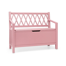 Load image into Gallery view, CamCam harlequin play bench - Berry