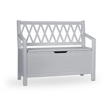 Load image into Gallery view, CamCam harlequin play bench - Gray / gray