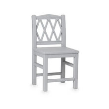 Image in Gallery view drawers, CamCam harlequin kids chair - Gray