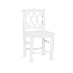 CamCam harlequin kids chair - White