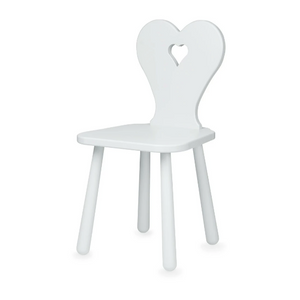 CamCam heart kids chair - Classic gray